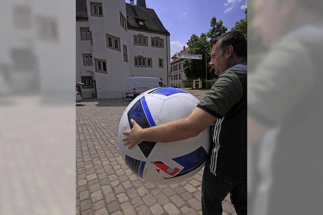 Public Viewing zur WM 2018 auf dem Schlossplatz