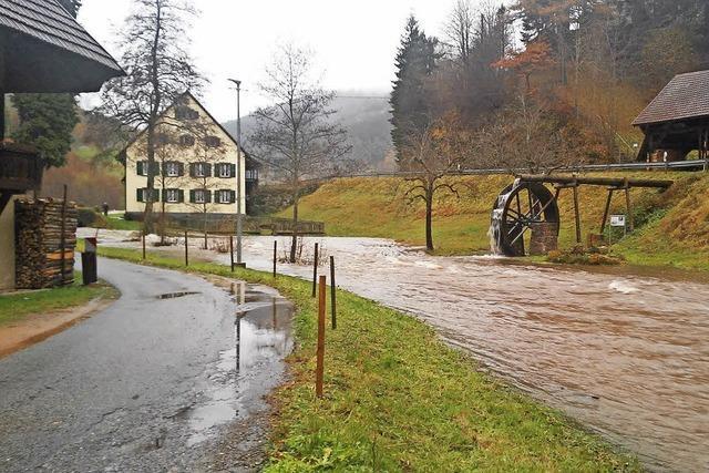Hochwasserschutz im Kleinen Wiesental: Bürgermeister will handeln