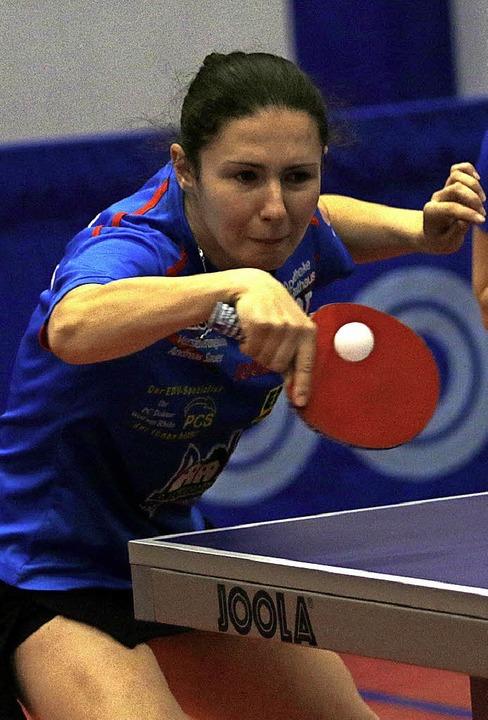 Seit vier Matches ohne Satzverlust: Ievgeniia Vasylieva   | Foto: uwo