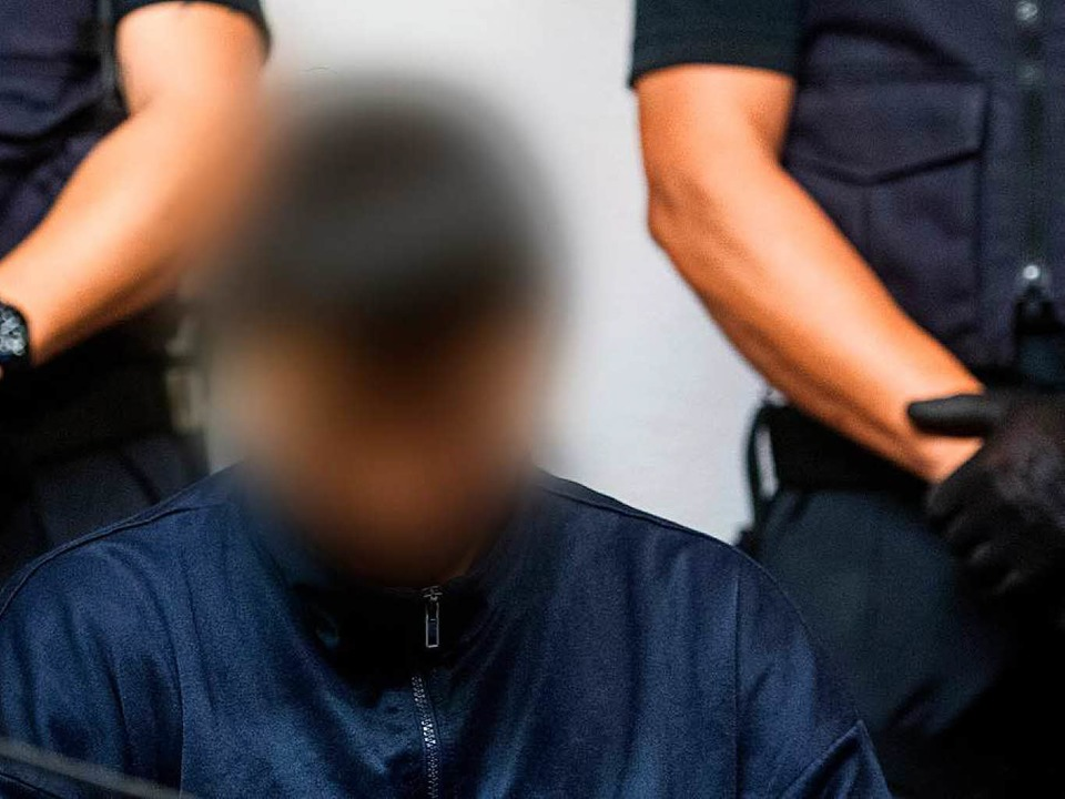 Hussein K. vor Gericht  | Foto: dpa