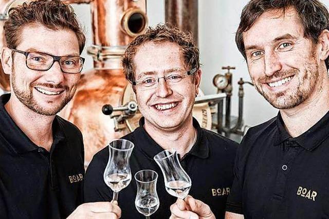 Goldgekrönter Gin kommt aus dem Schwarzwald