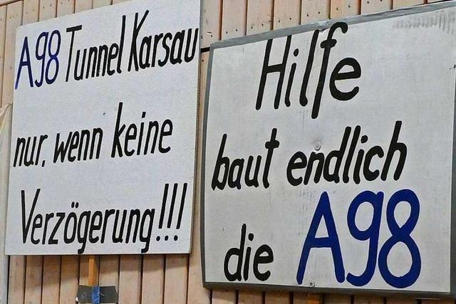 Heißes Thema: Pläne für A 98 bei Schwörstadt offengelegt