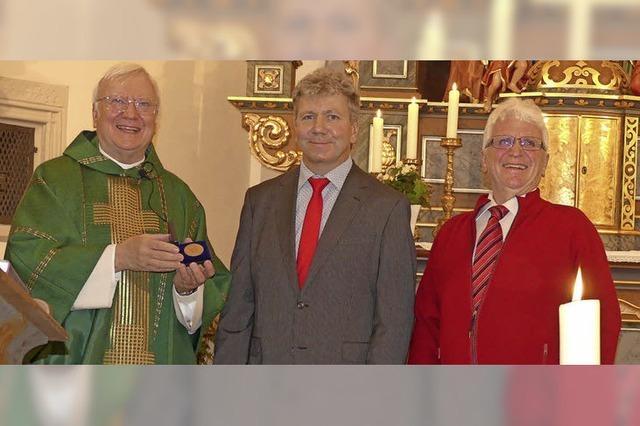 Hohe Auszeichnung für Kirchenchor St. Margareta