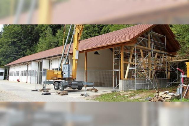 Bauhofmitarbeiter vielfältig im Einsatz