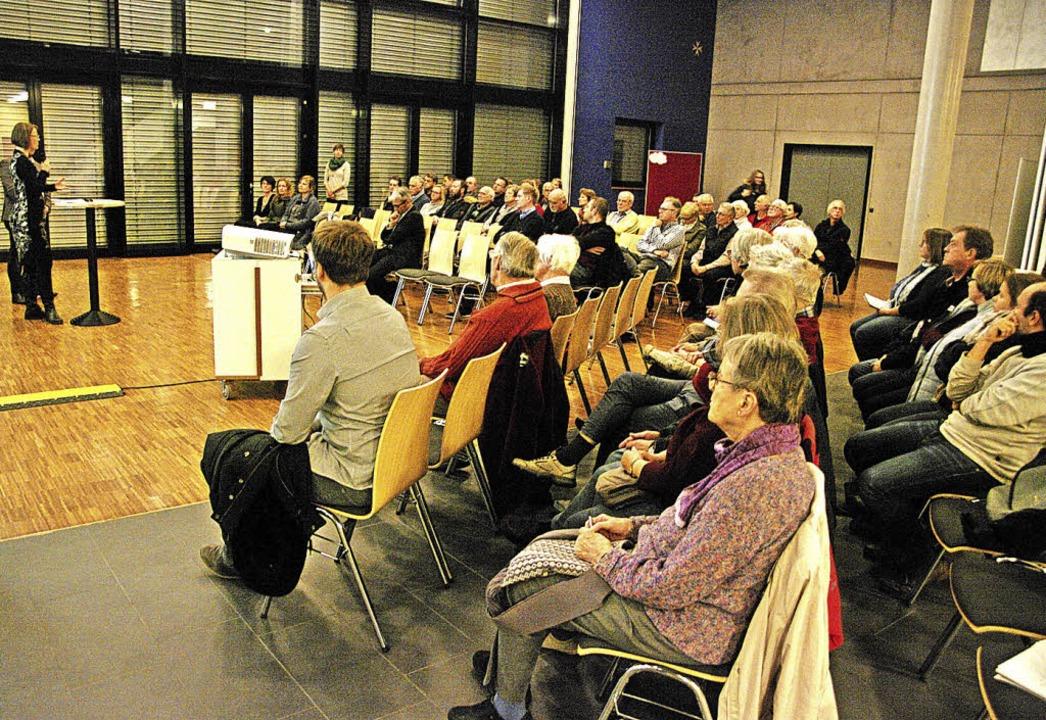 Reges Interesse bestand an der Bürgerbeteiligung.     Foto: Pfefferle