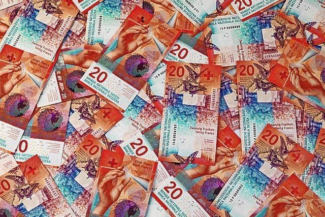 Kredite in Franken werden ausgelöst