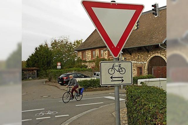 Radfahrer haben oft das Nachsehen
