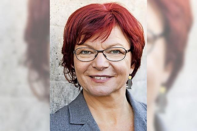 Freiburger SPD-Landtagsbageordnete Gabi Rolland fühlt sich übergangen