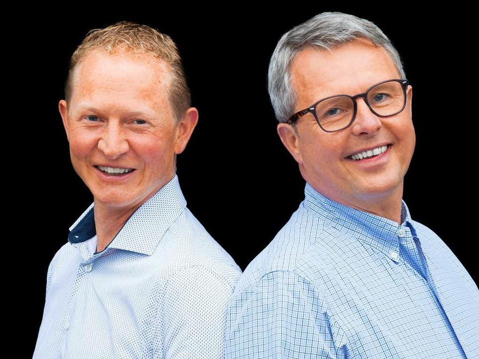 Die Cousins Ralf (links) und Thomas Winterhalter  | Foto: Michael Wissing