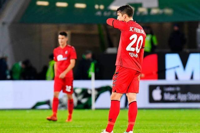 SC-Spieler nach der Wolfsburg-Pleite in der Einzelkritik