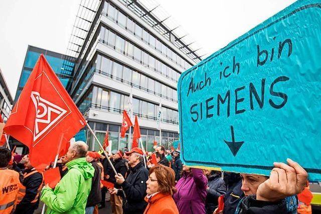 Gestörter Betriebsfrieden bei Siemens