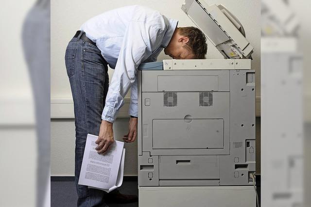 86 Prozent der Deutschen leiden unter Stress am Arbeitsplatz