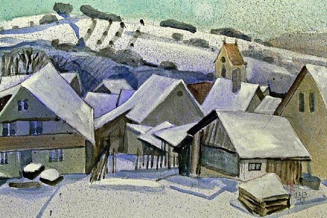 Winterbilder unter dem Titel