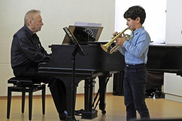 Musiker-Nachwuchs spielt groß auf