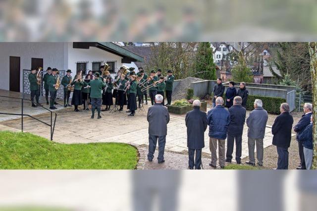 Gedenken in Ettenheimmünster