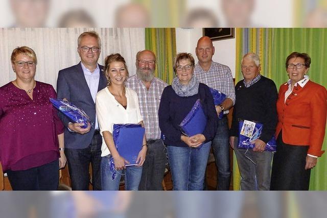 DLRG ist stolz auf treue und engagierte Mitglieder