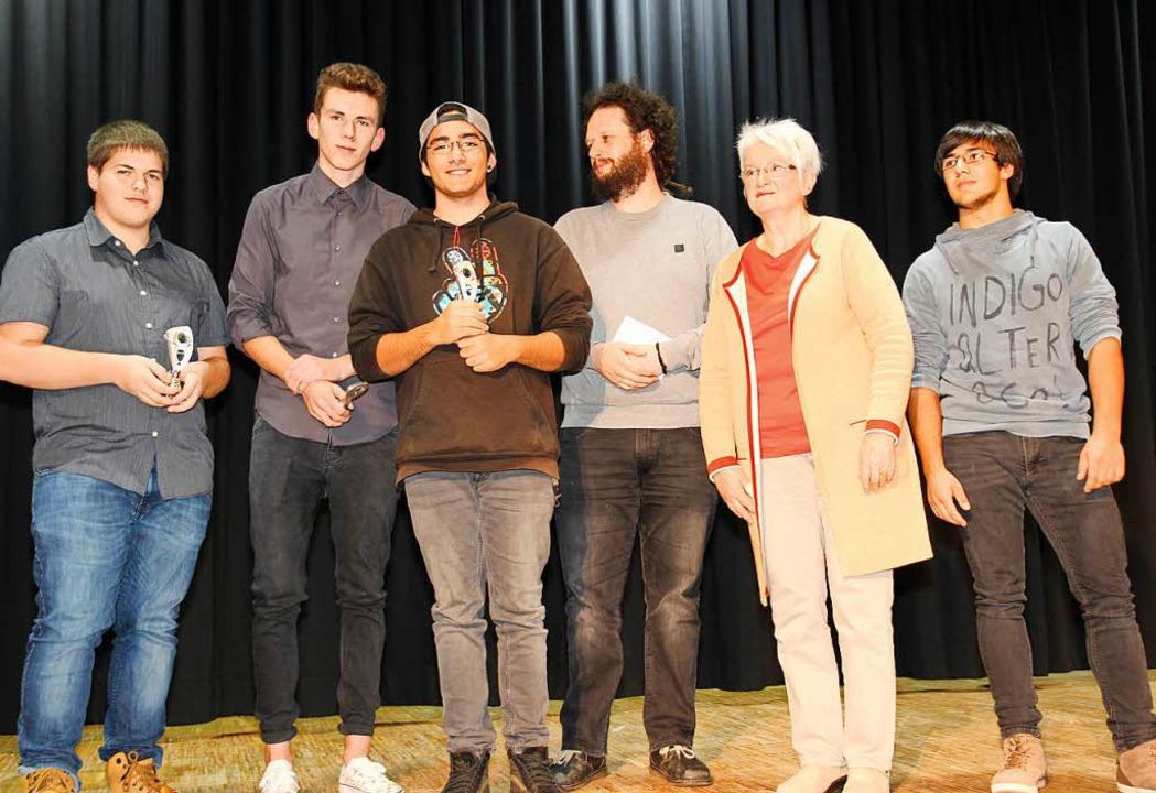 Die  Delegation des Träger- und Fördervereins Jugend  | Foto: Eva Korinth