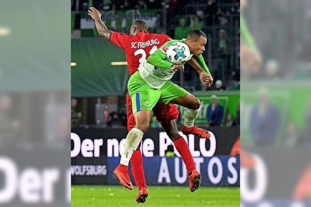 In Wolfsburg war der SC Freiburg einfach nicht gut genug