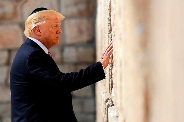 USA wollen einen Staat Palästina anerkennen