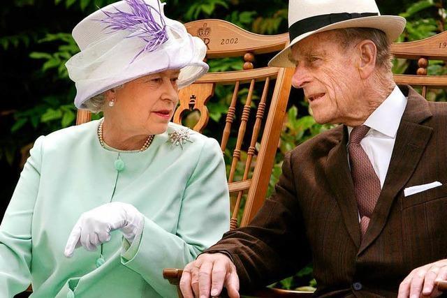 Queen Elizabeth II und Prinz Philipp feiern 70. Hochzeitstag