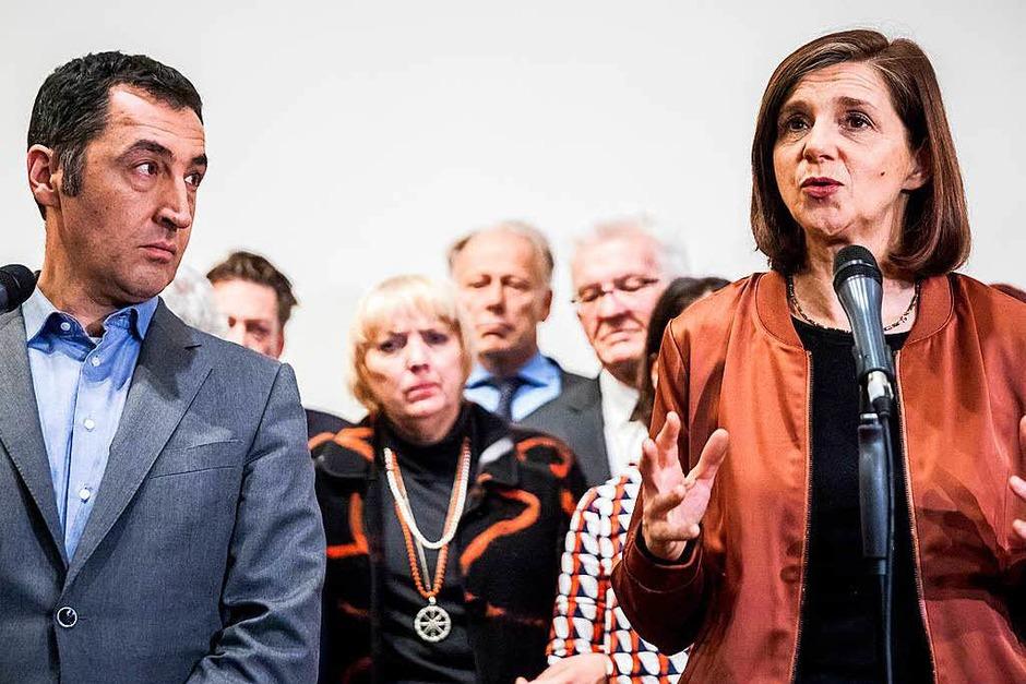 Cem Özdemir und Katrin Göring-Eckardt, Die Grünen (Foto: dpa)