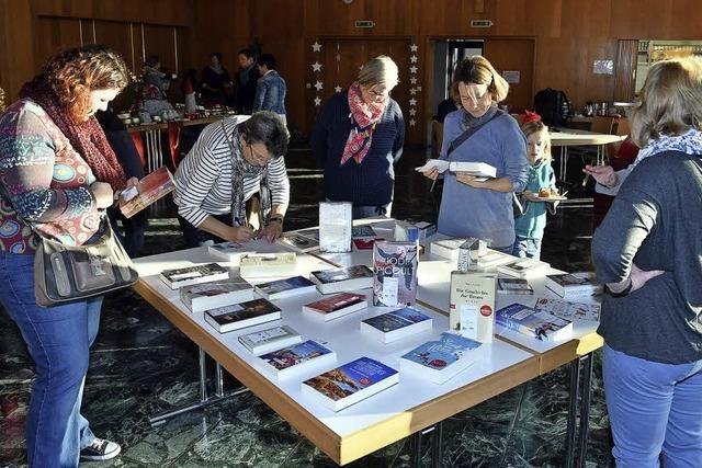 Weihnachtsbuchausstellung in Friesenheim