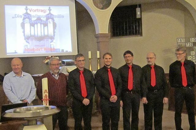Brüder Silbermann und die Orgeln
