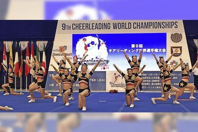Cheerleaderinnen Dritte bei Weltmeisterschaft