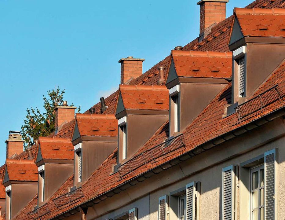 Mietwohnungen an der Bauhöferstraße in Haslach   | Foto: Bamberger