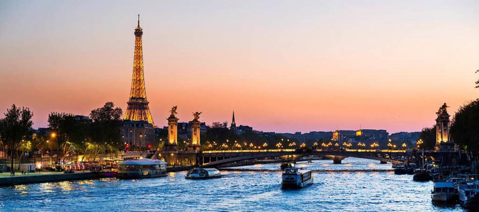 Der Eiffelturm lädt zum Pariser Traum ein.   | Foto: @s4visuals-Fotolia