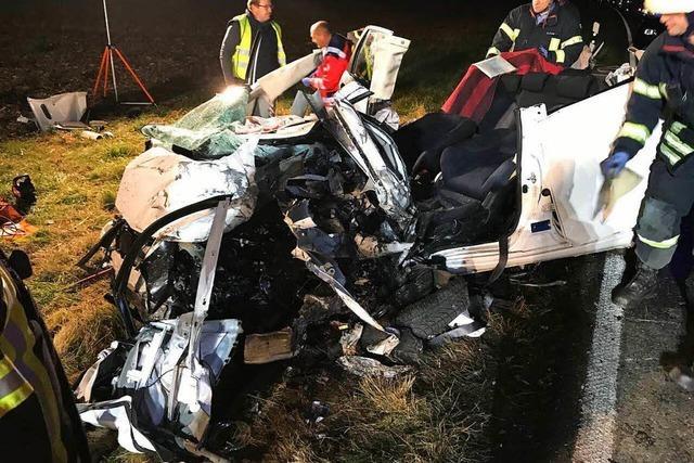 Schwerer Unfall auf der L 113 bei Endingen