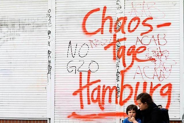 G20-Randale: Bisher höchste Strafe für Angeklagten