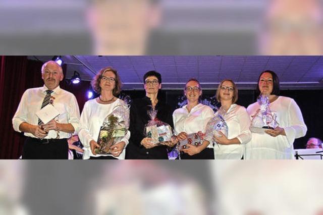 Akkordeonorchester Stühlingen ehrt sechs engagierte Musiker