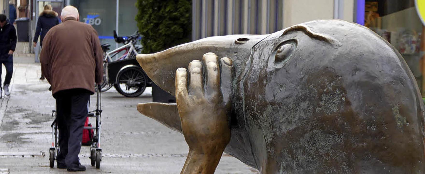 Offenburg stellt sich aufs Älter werde...kutiert, wie darauf zu reagieren ist.     Foto: Helmut Seller