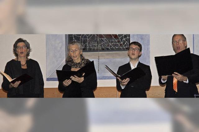 Versierte Solisten setzen dem Chorkonzert ein Glanzlicht auf