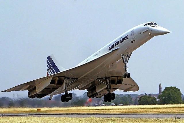 Vor 40 Jahren flog die erste Concorde