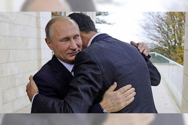 Assad bedankt sich bei Putin für russische Schützenhilfe