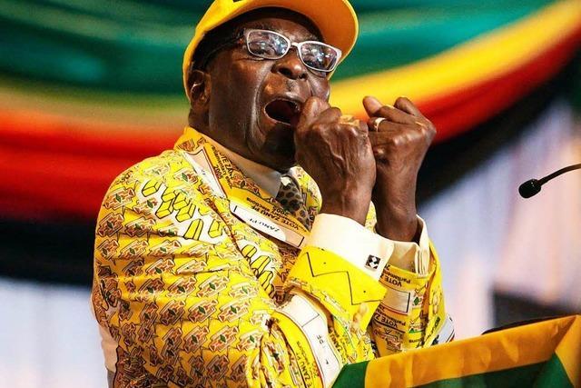 Simbabwes Präsident Mugabe ist zurückgetreten