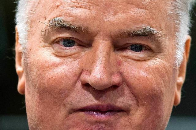 UN-Tribunal: Ratko Mladic zu lebenslanger Haft verurteilt