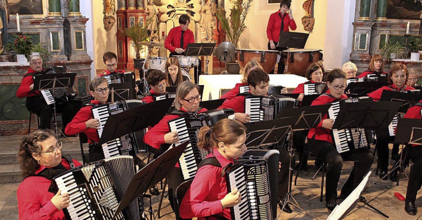 Gut besucht: Akkordeonkonzert in Sankt Stephan   | Foto: Mario Schöneberg