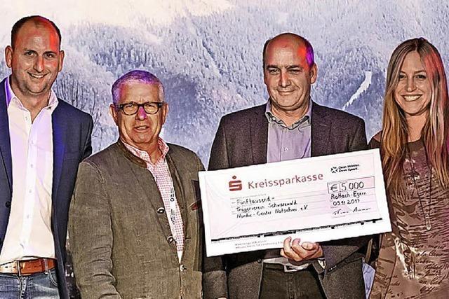 Auszeichnung für Nordic Center Notschrei