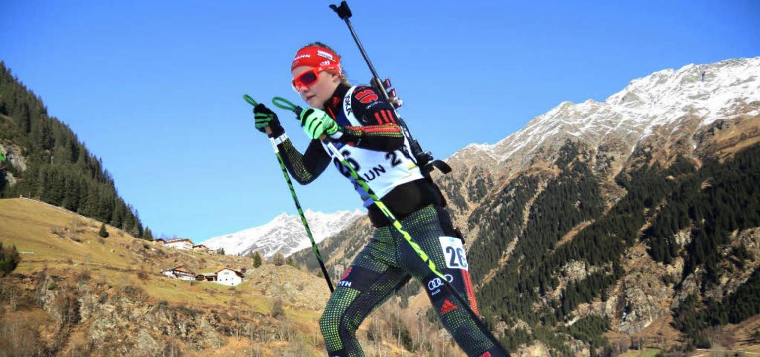 Annika Knoll hat, wenn ihre Laufform p...in internationalen Rennen zu bestehen.  | Foto: ZVG