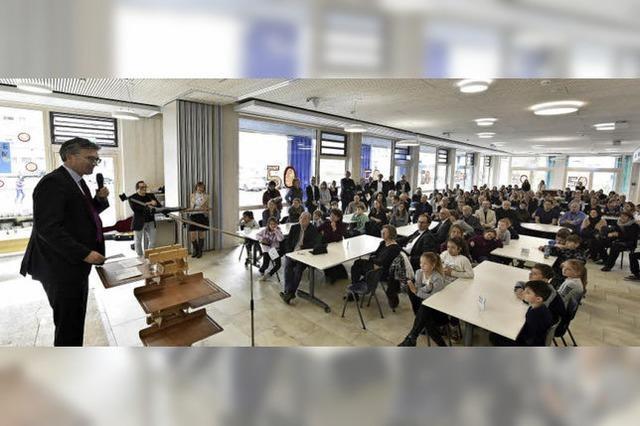 Die Erweiterungsbauten der Adolf-Reichwein-Schule sind feierlich eingeweiht worden
