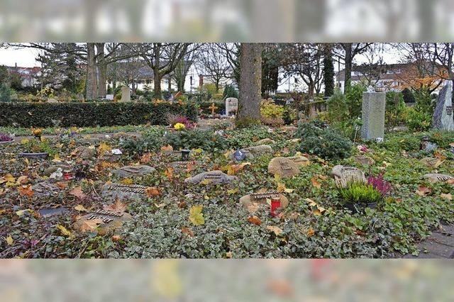 Großer Wandel der Bestattungskultur