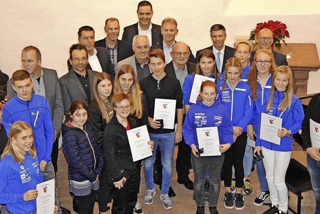 Stadt Schopfheim zeichnet Blutspender aus