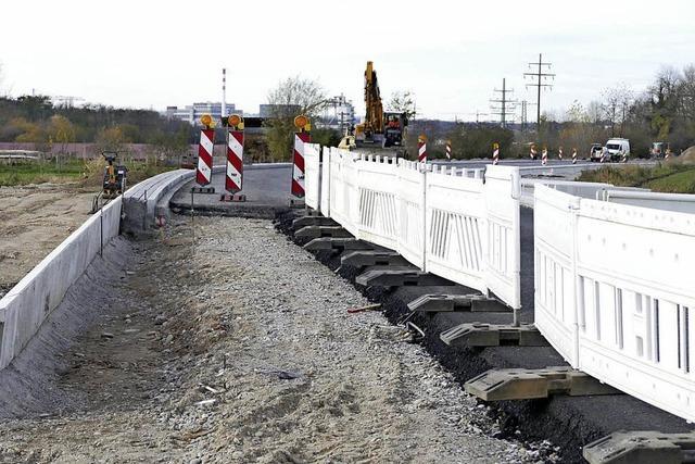 Drei Großbaustellen in Grenzach-Wyhlen werden 2018 fertig