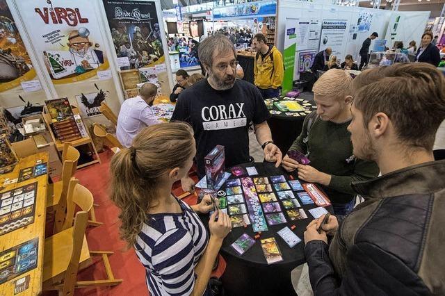 Spielemesse in Stuttgart