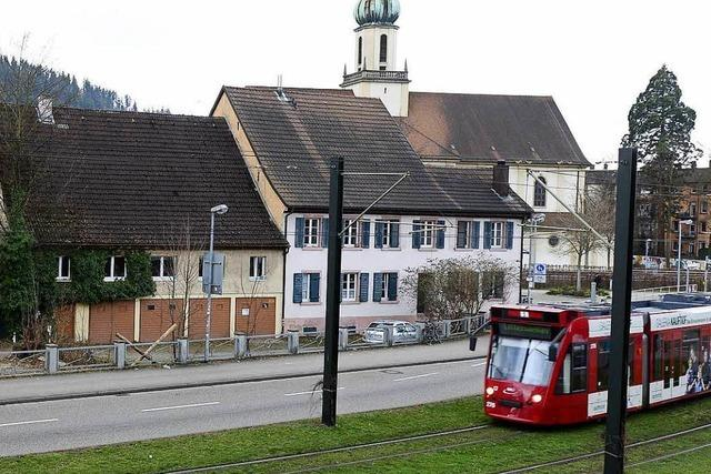 Unterbrechung im Tramverkehr nach kleinem Unfall in der Schwarzwaldstraße