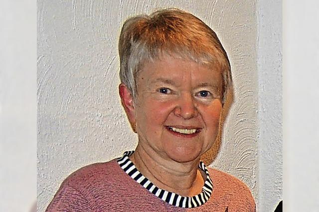 Monika Kocum ist neues Ehrenmitglied