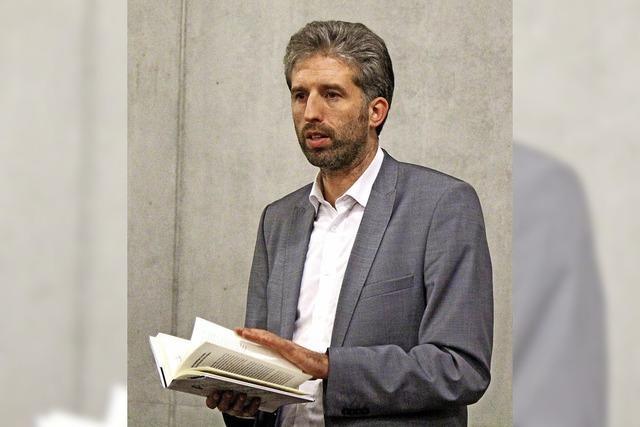 "Tübinger OB Boris Palmer zu Gast im Zeller ""Forum"""